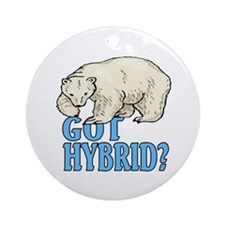 Got hybrid? Ornament (Round)
