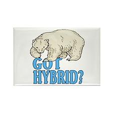 GOT HYBRID? Rectangle Magnet