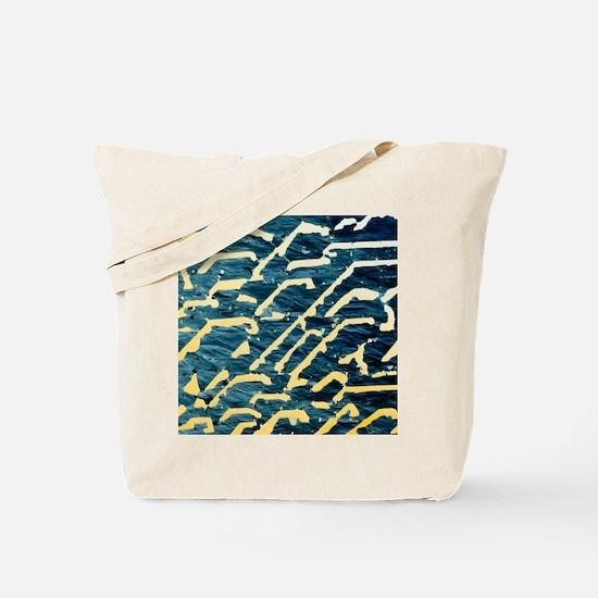 Graphic granite rock Tote Bag