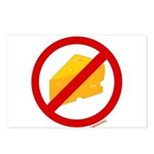 No Cheese Postcards (Package of 8)