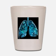 Lungs, artwork Shot Glass