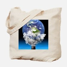 Global warming, conceptual image Tote Bag