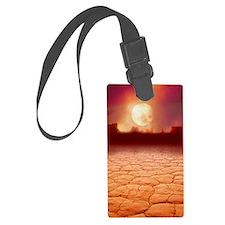 Global warming Luggage Tag