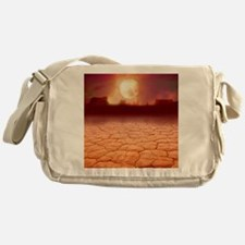 Global warming Messenger Bag