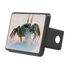 Ghost crab on sand Hitch Cover