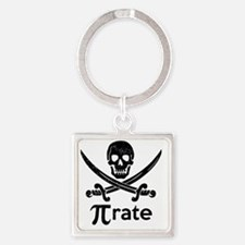 Pirate Square Keychain