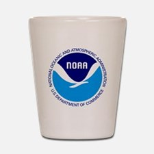 NOAA Shot Glass