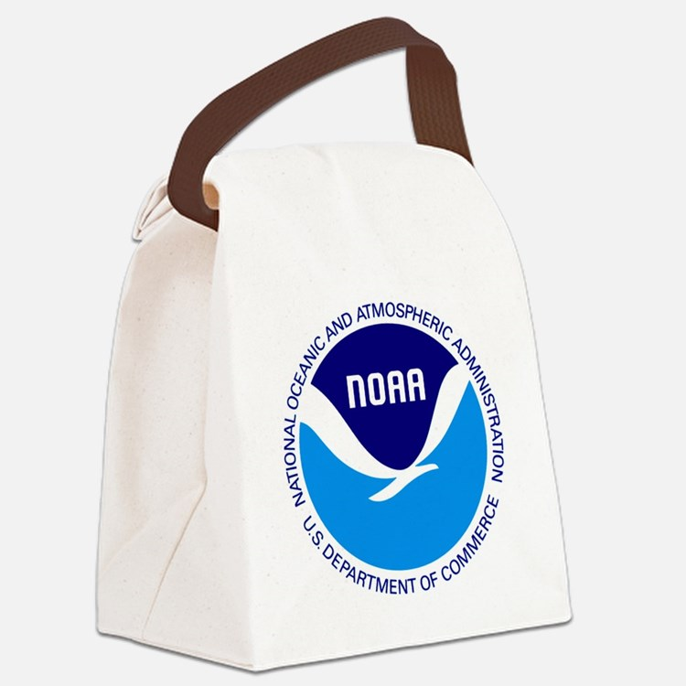 NOAA Canvas Lunch Bag
