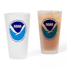 NOAA Drinking Glass