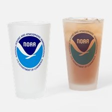 NOAA Drinking Glass