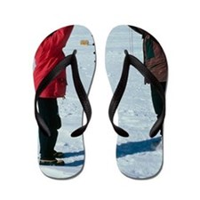 Glaciology research Flip Flops