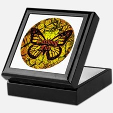Catching Fire Butterflies Keepsake Box