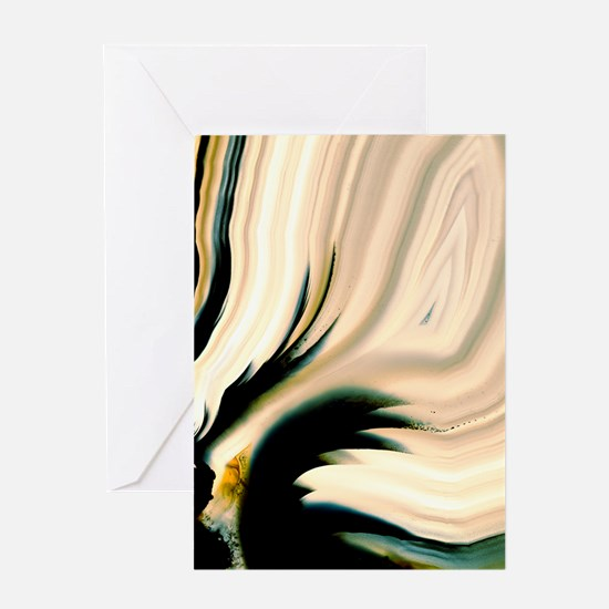 Geode interior Greeting Card