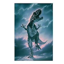 Giant Allosaurus dinosaur Postcards (Package of 8)