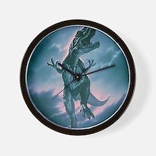 Giant Allosaurus dinosaur Wall Clock