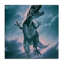 Giant Allosaurus dinosaur Tile Coaster