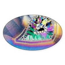 Geode in thin section Decal