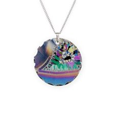 Geode in thin section Necklace
