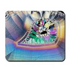 Geode in thin section Mousepad