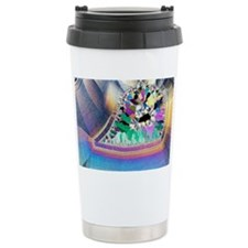 Geode in thin section Travel Mug