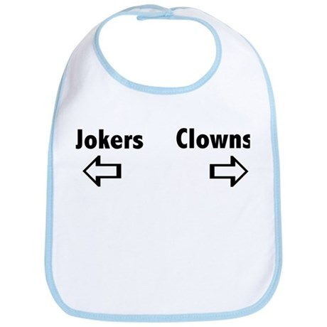 Clowns & Jokers Bib