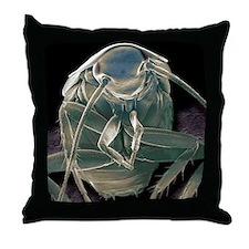 German cockroach, SEM Throw Pillow