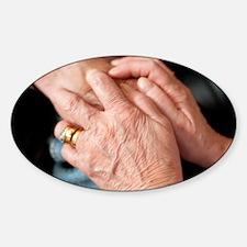 Geriatric care Decal