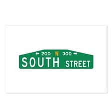 South St., Philadelphia (US) Postcards (Package of