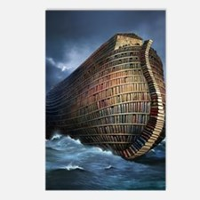 Literary ark, conceptual  Postcards (Package of 8)