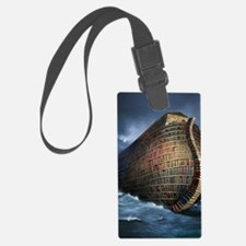 Literary ark, conceptual artwork Luggage Tag