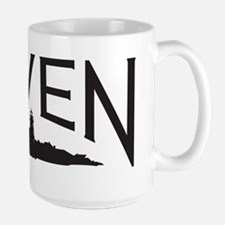 Haven logo (black) Large Mug