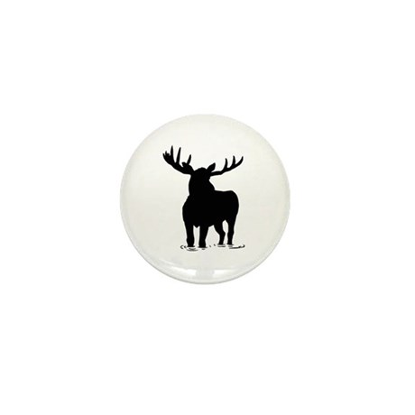 The Moose Mini Button (10 pack)