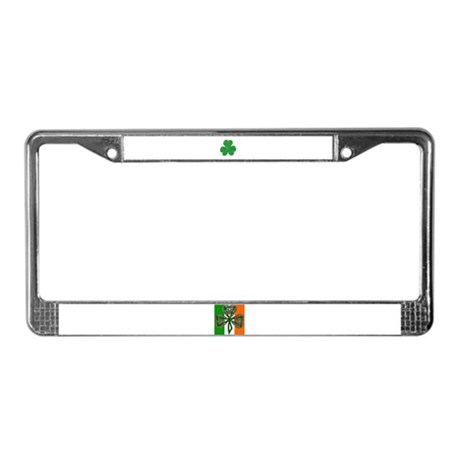 SHAMROCK License Plate Frame