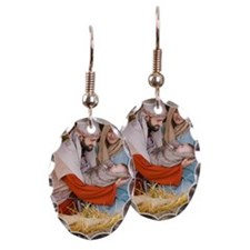 The birth of Jesus Earring