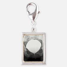 Full bladder, X-ray cystogra Silver Portrait Charm
