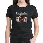 Affenpinscher Mom Women's Dark T-Shirt