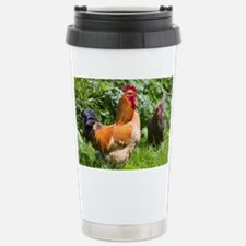 Free-range chickens Travel Mug