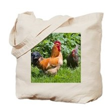 Free-range chickens Tote Bag