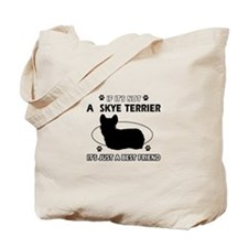 skye TERRIER designs Tote Bag