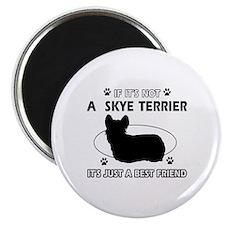 skye TERRIER designs Magnet