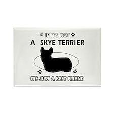 skye TERRIER designs Rectangle Magnet (100 pack)