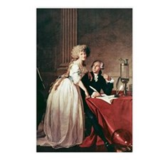 Lavoisier and his wife, 1 Postcards (Package of 8)