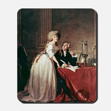 Lavoisier and his wife, 1788 Mousepad