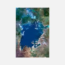 Lake Victoria, satellite image Rectangle Magnet