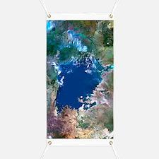 Lake Victoria, satellite image Banner