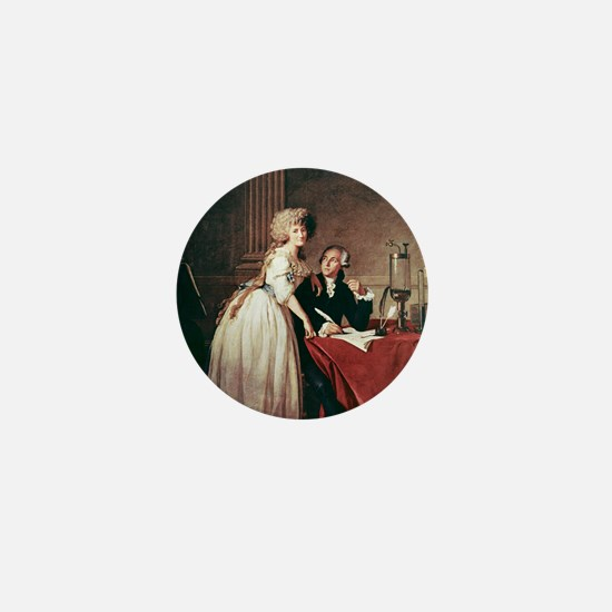 Lavoisier and his wife, 1788 Mini Button