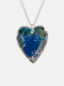 Lake Victoria, satellite imag Necklace