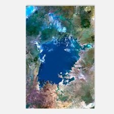 Lake Victoria, satellite  Postcards (Package of 8)