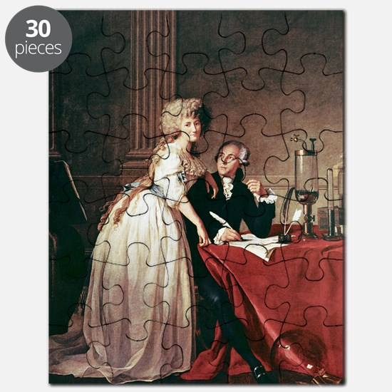 Lavoisier and his wife, 1788 Puzzle