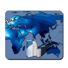Lactose tolerance, Eurasia and Africa Mousepad